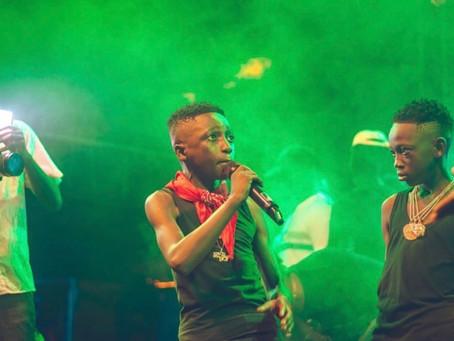 "Stonebwoy, Donzy, Larruso, Talaat Yarky, MC Miguel, Abeiku Sarkcess and more support DJ Justice on """