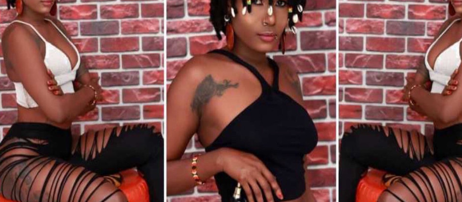 Meet Labena :Ghanaian female musician with both p3nis and V@gin@ [Video]