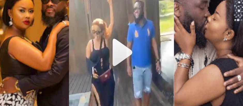 Video Of Nana Ama McBrown flaunts her huge backside in romantic video with her husband on Val's day