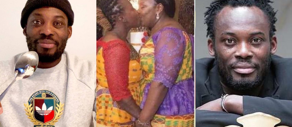 Ghanaians on Social Media L@shing (Bl@st) Micheal Essien For Supports Homos3xuality's