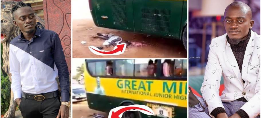 Nkansah Lil Win School bus runs over 5-year-old girl and kills her Instantly [video]