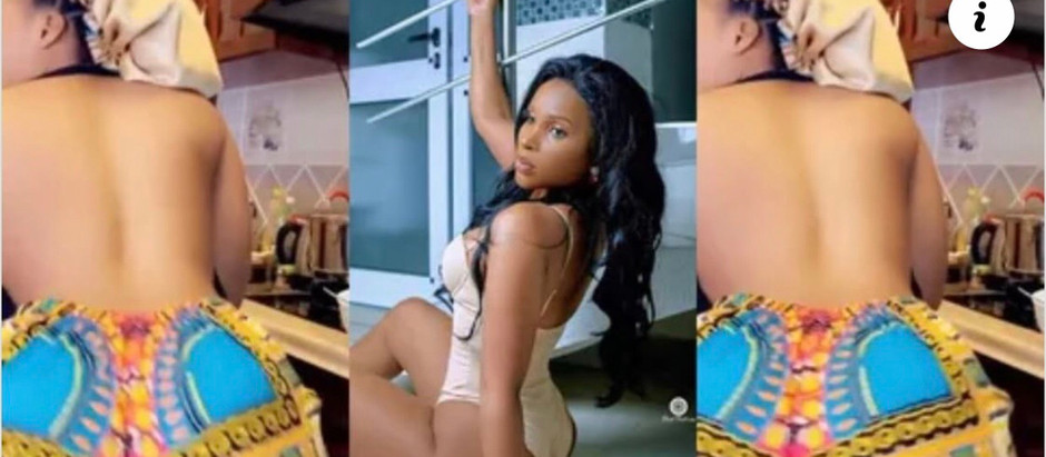 Watch Video of Benedicta Gafah Tw£rking Massively With Her Huge backside causes stir