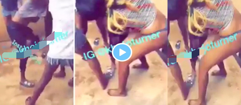A Video Of Two Female University students f!ght f!ercely and undr3ss each other over Sugar Daddy.