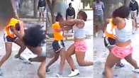 Two Groups Of Slay Queens Caught In A Battle Because Of A Man [Video]