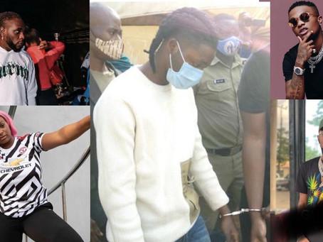 Wizkid, Burnaboy, other celebrities react to Omah Lay's arrest