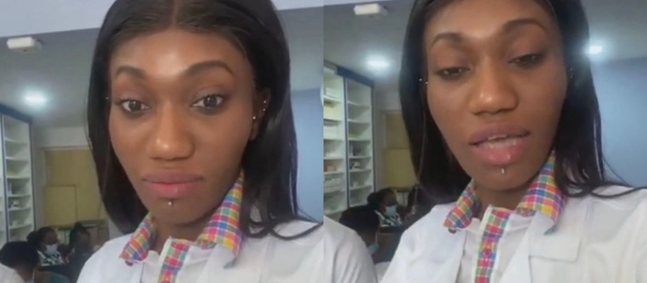 Wendy Shay finally turns nurse as she teaches young girls on how to prevent pregnancy.