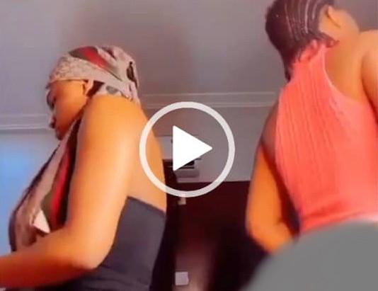 A Video Of Two Sl@y Queens Sh0w Raw Bvtt0cks In Massive Twr3ks [WATCH VIDEO]