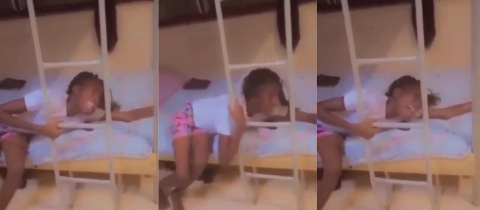 Video Of Young lady suffers broken heart ahead of Valentine's Day [Watch Video]