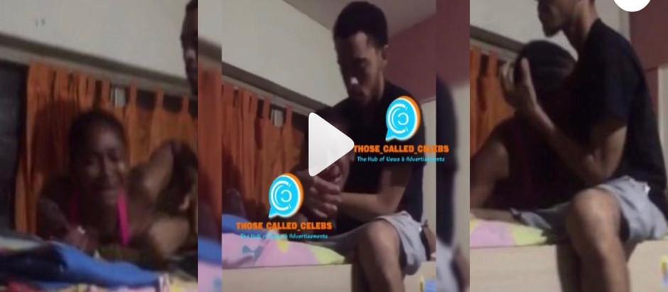 Afia Schwar's twin son def!es her & runs back to girlfriend; girl weeps in video [watch Video]
