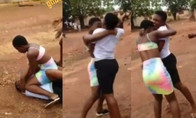 Two JHS Students F!ght Over A Guy Because Of iPhone [WATCH]