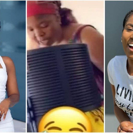 MzVee sacks her mum from her home studio after failing to drop bars [Watch]