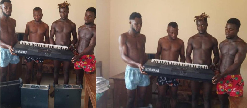 4 men arrested for stealing church instruments