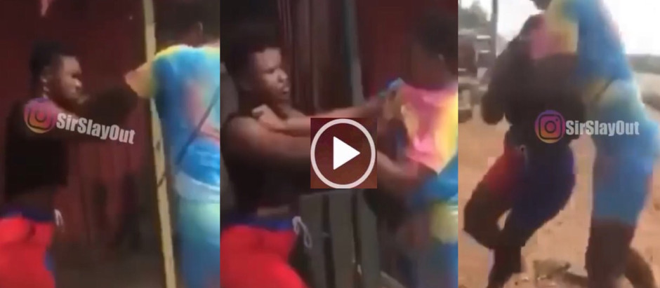 A viral video of Two Slay Queens F!ght  D!rty Over A Client trend on social media [watch Video]