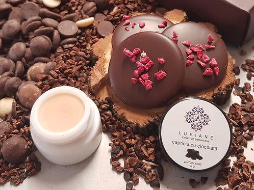 Capriciu cu Ciocolată - Parfum solid