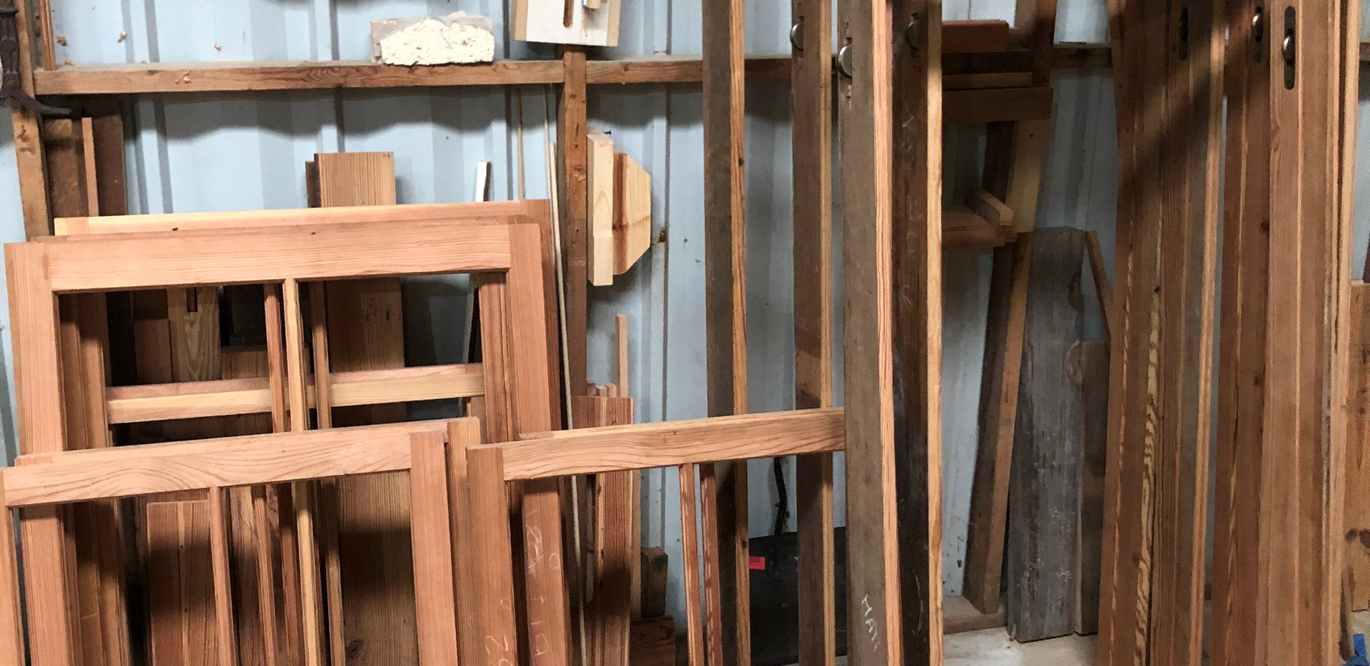 Heart Pine Window Sash