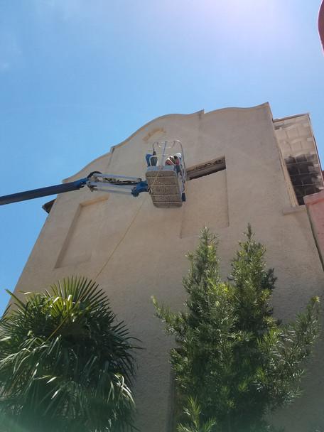 Removing Cinder Blocks