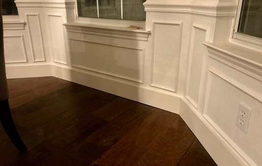 Chair Rail, Molding, and Baseboards