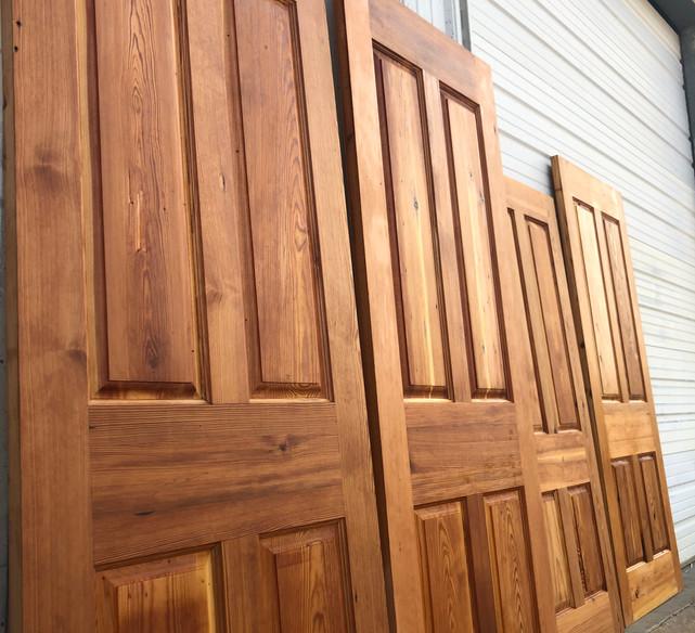 Exterior Grade Reclaimed Doors