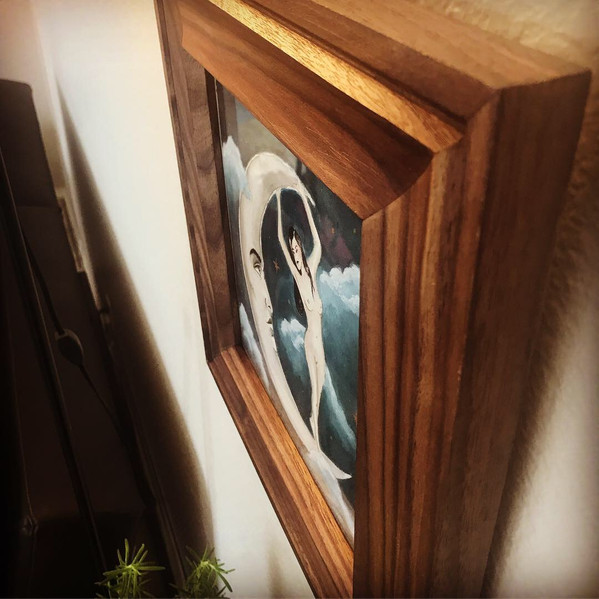 Walnut Custom Frame