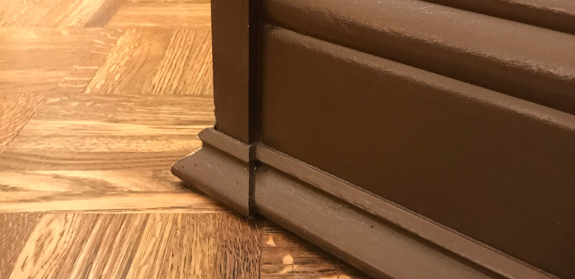 Baseboard Detail