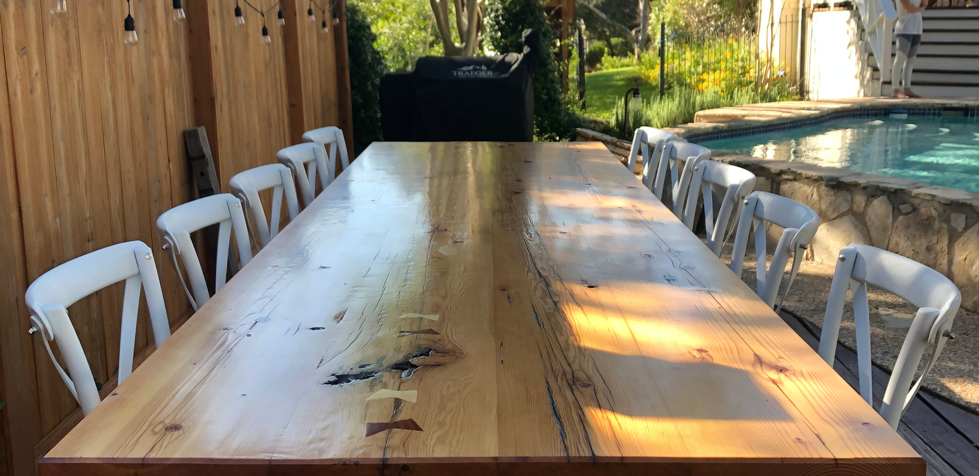 12' Farmhouse Table