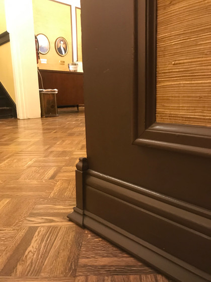 Baseboard and Corner Detail