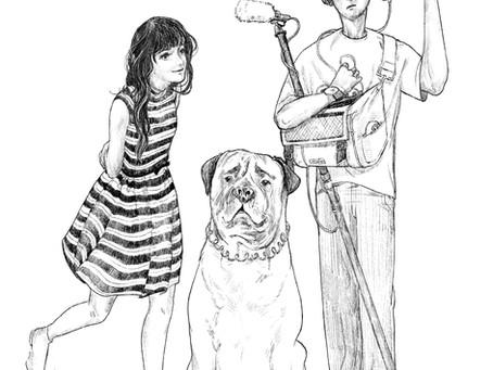 Illustration for La Petite Morte by Fabien Colas