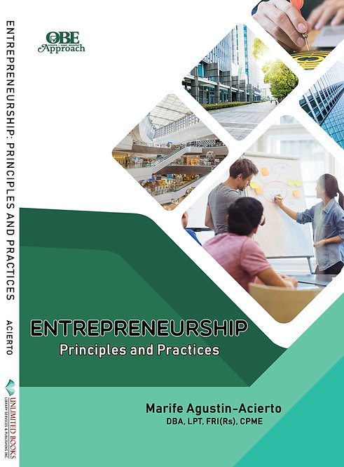 Entrepreneurship: Principles and Practices