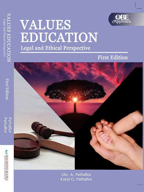 Values Education: Legal and Ethical Perspective