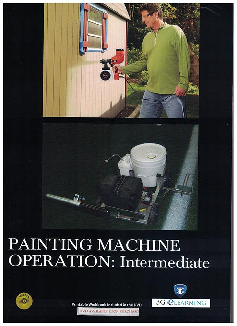 Painting Machine Operation: Intermediate (3G e-Learning)