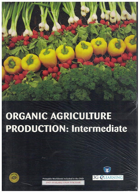 Organic Agriculture Production: Intermediate (3G e-Learning)