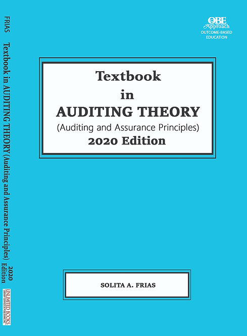 Textbook in Auditing Theory (Auditing and Assurance Principles) 2020 Edition