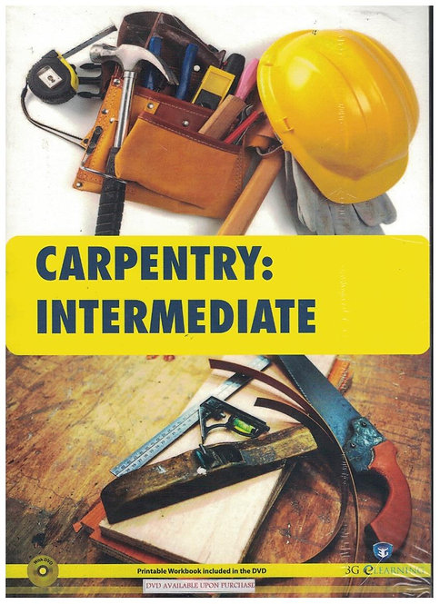 Carpentry: Intermediate (3G e-Learning)