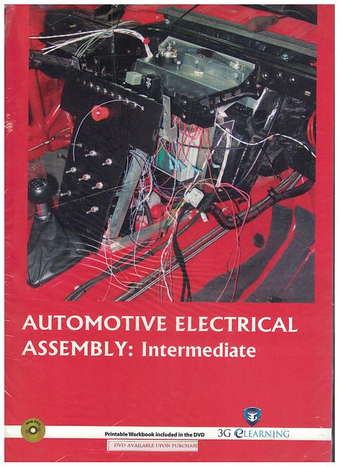 Automotive Electrical Assembly: Intermediate (3G e-Learning)