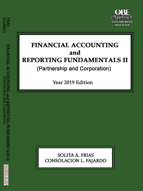 Financial Accounting and Reporting Fundamentals II (Partnership and Corporation)