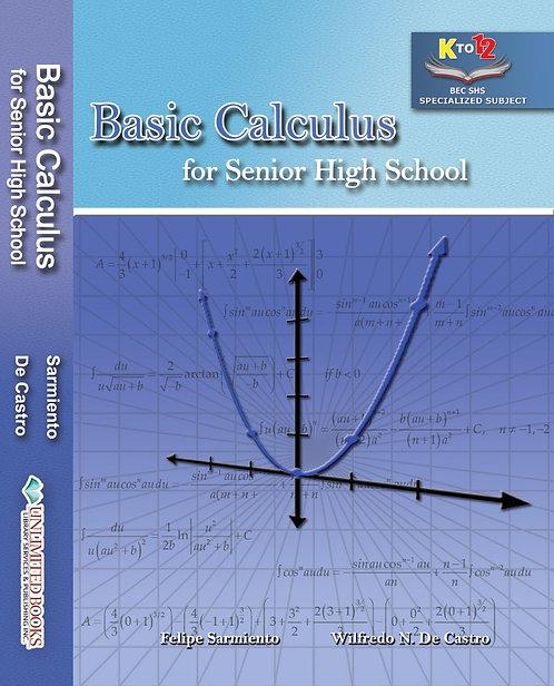 Basic Calculus for Senior High School