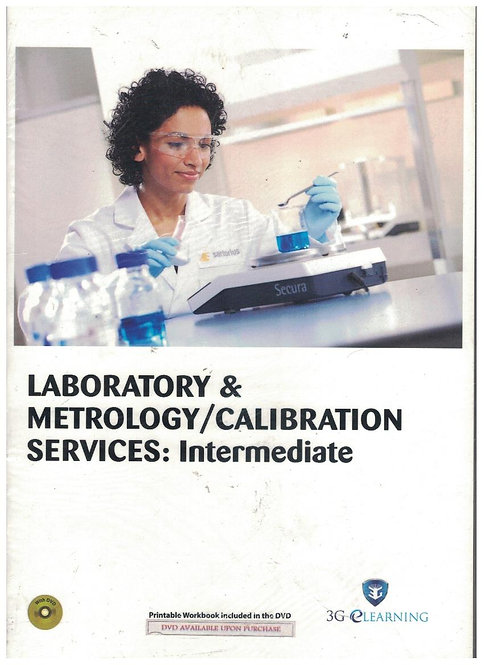 Laboratory & Metrology/Calibration Services: Intermediate (3G e-Learning)