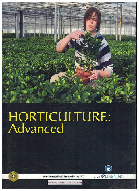 Horticulture: Advanced (3G e-Learning)
