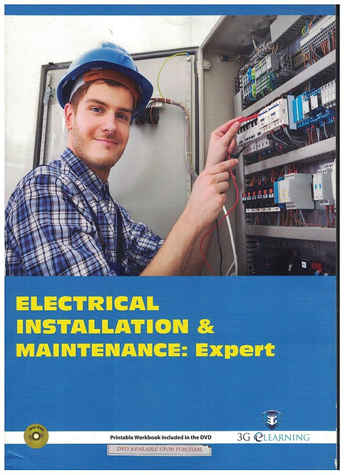 Electrical Installation & Maintenance: Expert (3G e-Learning)