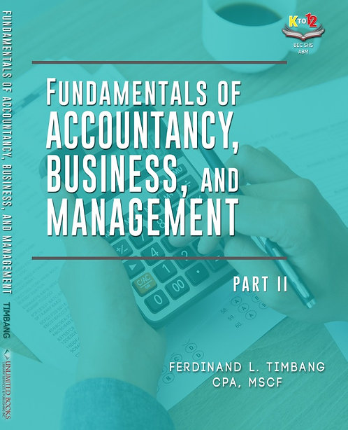 Fundamentals of Accountancy, Business, and Management 2 (TRAIN Law Updated)