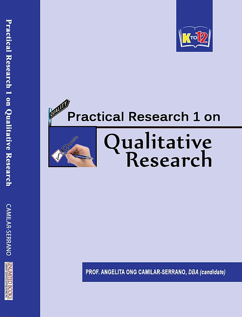 Practical Research 1 on Qualitative Research