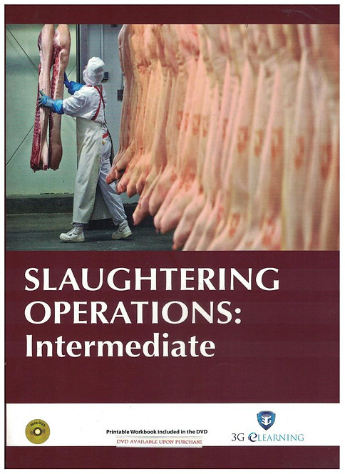 Slaughtering Operations: Intermediate (3G e-Learning)