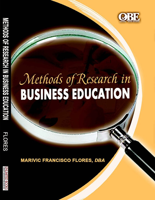 Methods of Research in Business Education