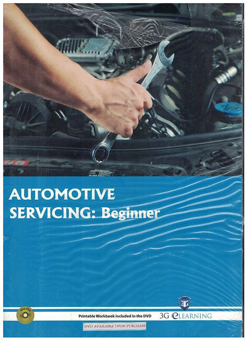 Automotive Servicing: Beginner (3G e-Learning)