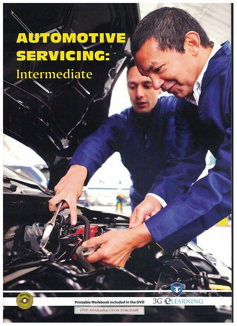 Automotive Servicing: Intermediate (3G e-Learning)