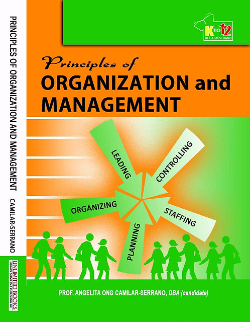 Principles of Organization and Management