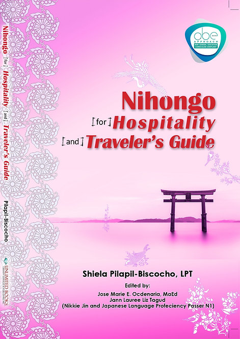 Nihongo for Hospitality and Traveller's Guide