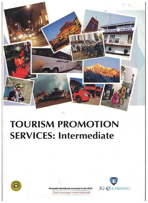 Tourism Promotion Services: Intermediate (3G e-Learning)