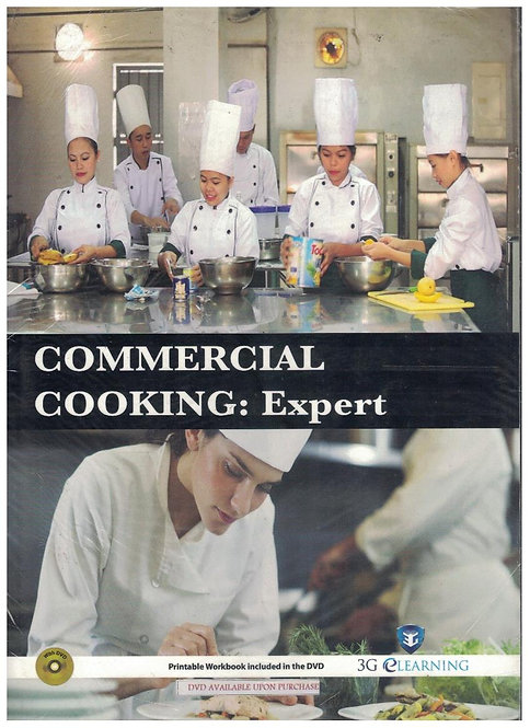 Commercial Cooking: Expert (3G e-Learning)
