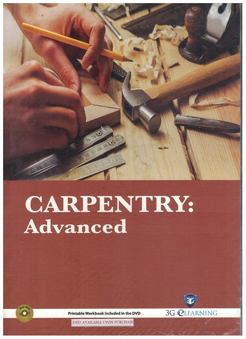 Carpentry: Advanced (3G e-Learning)